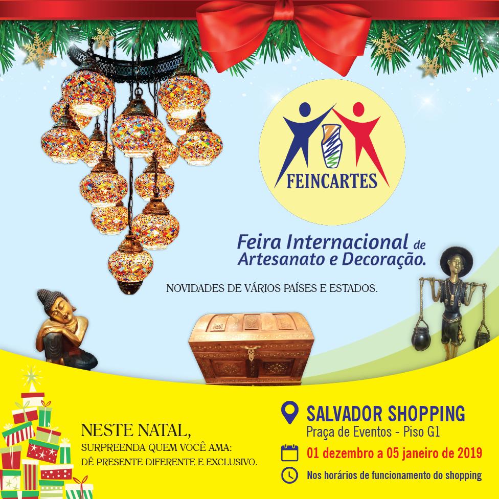0b9b640d9 Feira Internacional de Artesanato e Decoração acontece no Salvador ...